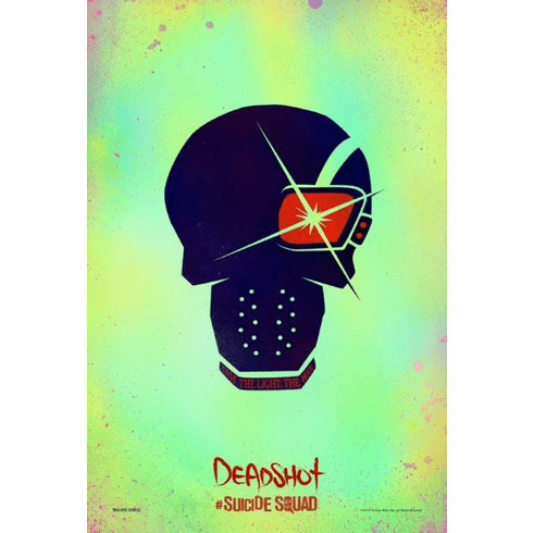 Deadshot Suicide Squad Mini Poster Character Icon 11x17