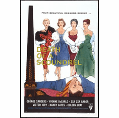 Death Of A Scoundrel Movie Poster 24x36