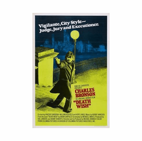 Death Wish Movie Poster 24in x36 in