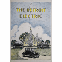 Detroit Electric Poster 24in x36in