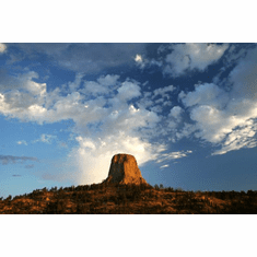 Devils Tower Poster Photography 24inx36in