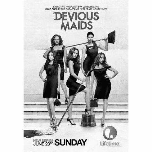 "Devious Maids Black and White Poster 24""x36"""