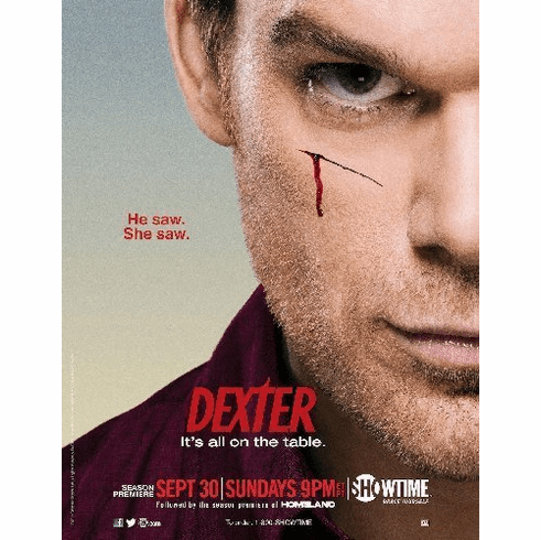 Dexter 8x10 Print Photo