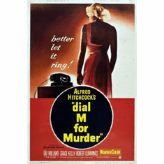 Dial M For Murder Movie Poster 24inx36in