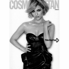 """Dianna Agron Black and White Poster 24""""x36"""""""