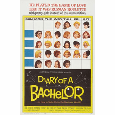 Diary Of A Bachelor Movie Poster 24x36