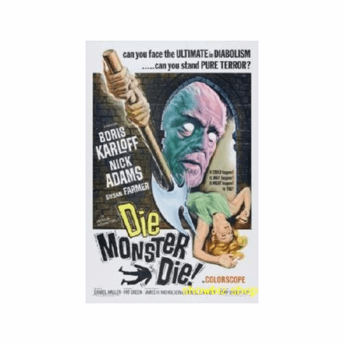 Die Monster Die Movie 8x10 photo Master Print