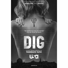 """Dig Black and White Poster 24""""x36"""""""