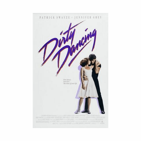 Dirty Dancing Movie Poster 24in x36 in