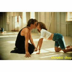 Dirty Dancing Patrick Swayze Kiss Movie Poster 11x17 Mini Poster