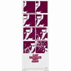 Dirty Harry 14inx36in Insert Movie Poster
