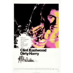 Dirty Harry Movie Poster 24inx36in