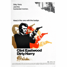 Dirty Harry Movie Poster 24inx36in Poster