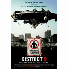 District 9 Movie Poster 24in x36 in