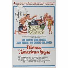 Divorce American Style Movie Poster 24x36