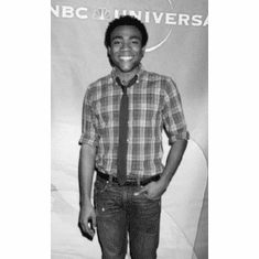 """Donald Glover Black and White Poster 24""""x36"""""""