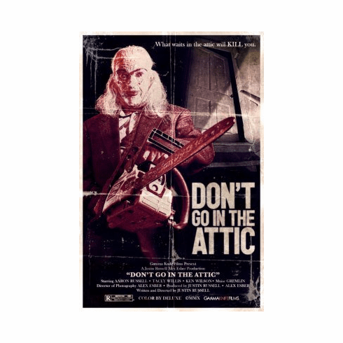 Dont Go In Attic Mini Poster 11x17