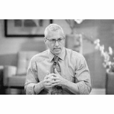 """Dr. Drew Black and White Poster 24""""x36"""""""