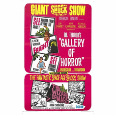 Dr Terrors Gallery Of Horrors Movie Poster 24x36