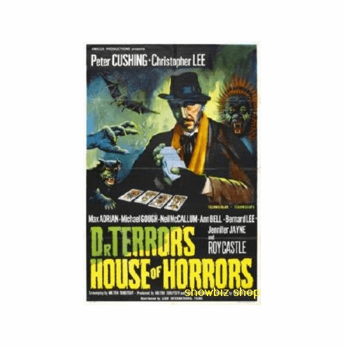 Dr Terrors House Of Horrors Movie 8x10 photo Master Print