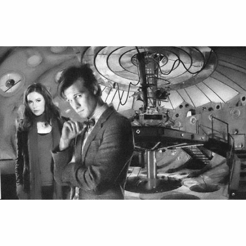 """Dr Who Black and White Poster 24""""x36"""""""