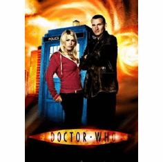 Dr. Who Poster #02 Christopher Eccleston Billie Piper 24inx36in