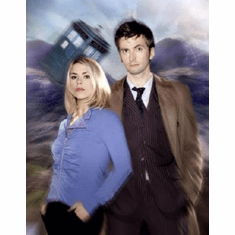 Dr. Who Poster #04 Billie Piper David Tennant 24inx36in