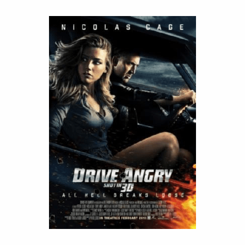 Drive Angry Movie 11inx17in Mini Poster #01
