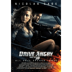 Drive Angry Movie Poster 24inx36in
