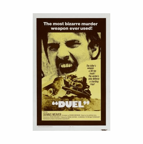 Duel Movie Poster 24in x36 in