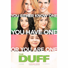 Duff Movie Poster 24in x36in