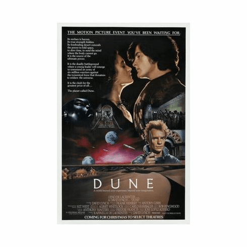 Dune Movie Poster 24in x36 in