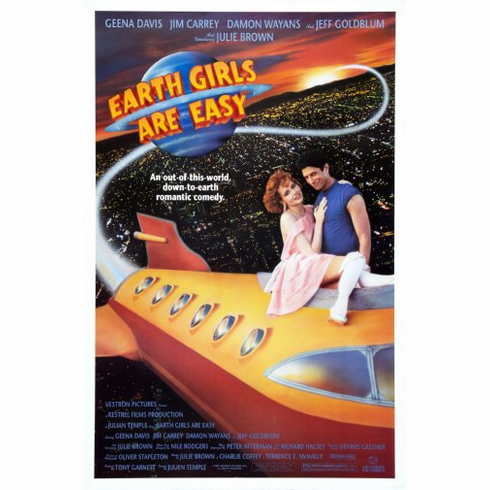 Earth Girls Are Easy Movie Poster 24inx36in