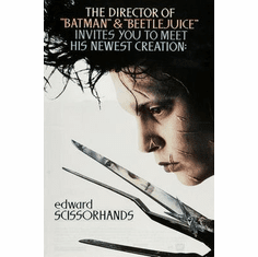Edward Scissorhands Movie Poster 24in x36 in