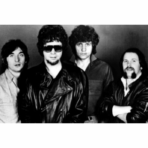 "Electric Light Orchestra Elo Black and White Poster 24""x36"""