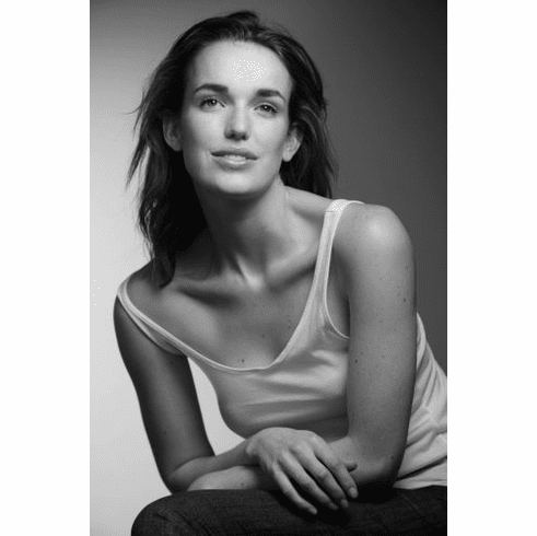 "Elizabeth Henstridge Black and White Poster 24""x36"""