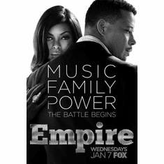 """Empire Black and White Poster 24""""x36"""""""