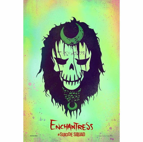 Enchantress Suicide Squad Character Icon Mini Poster 11x17