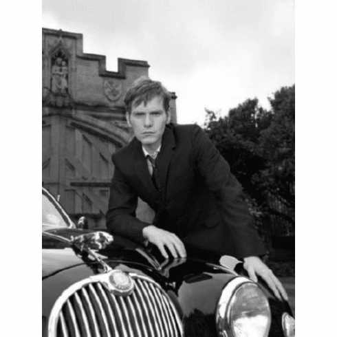 """Endeavour Black and White Poster 24""""x36"""""""