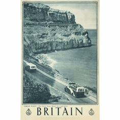 England Britain Poster 24in x36in
