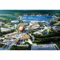 Epcot 1979 Poster 24inx36in