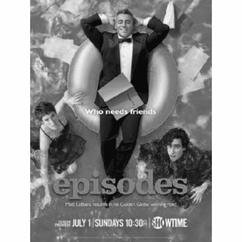 "Episodes Black and White Poster 24""x36"""