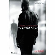 Equalizer The Movie poster 24inx36in Poster