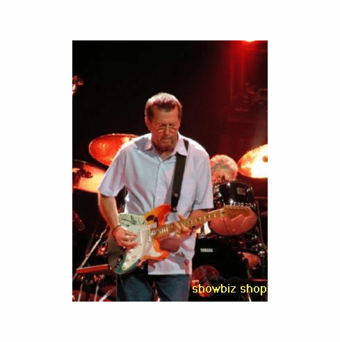 Eric Clapton Poster On Stage 24inx36in