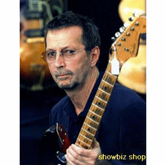 Eric Clapton Poster With Guitar 24inx36in