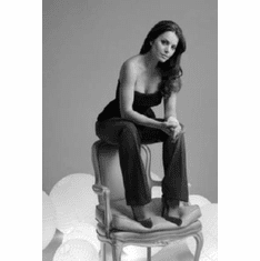 """Erica Durance Black and White Poster 24""""x36"""""""