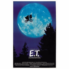 Et The Extra Terrestrial Movie Poster 24in x36 in