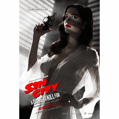 Eva Green Sin City Poster Mini Poster 11x17 A Dame to Kill For