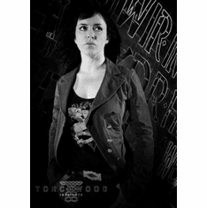 """Eve Myles Black and White Poster 24""""x36"""""""