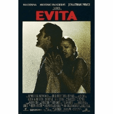 Evita Mini Movie Poster 11x17